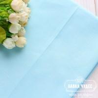 Бязь однотонная,светло-бирюзовая с голубым оттенком(цена указана за отрез 40*50см)
