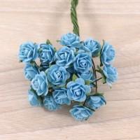 Розы бирюзовые, 1 см