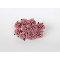 Розы марсаловые 2 см