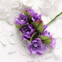 Цвет яблони фиолетовый 3,5 см