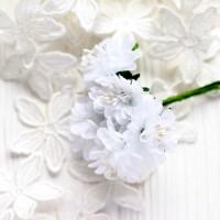 Гвоздика белая 3,5 см