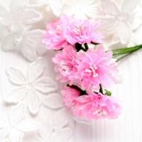 Гвоздика розовая 3,5 см