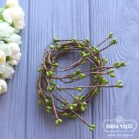 Веточка с тычинками,оливковая