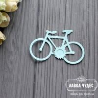 """Вырубка """"Велосипед"""" голубой"""