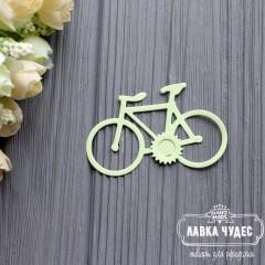 """Вырубка """"Велосипед""""салатовый"""