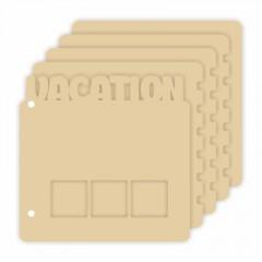Заготовка для альбома Vacation 20х23см 5стр